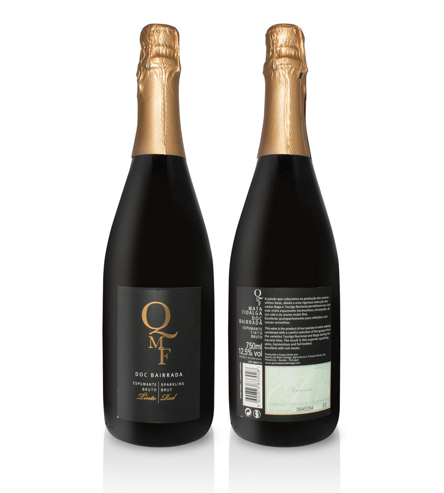 Sparkling Wine QMF Red 75cl Bairrada DOC
