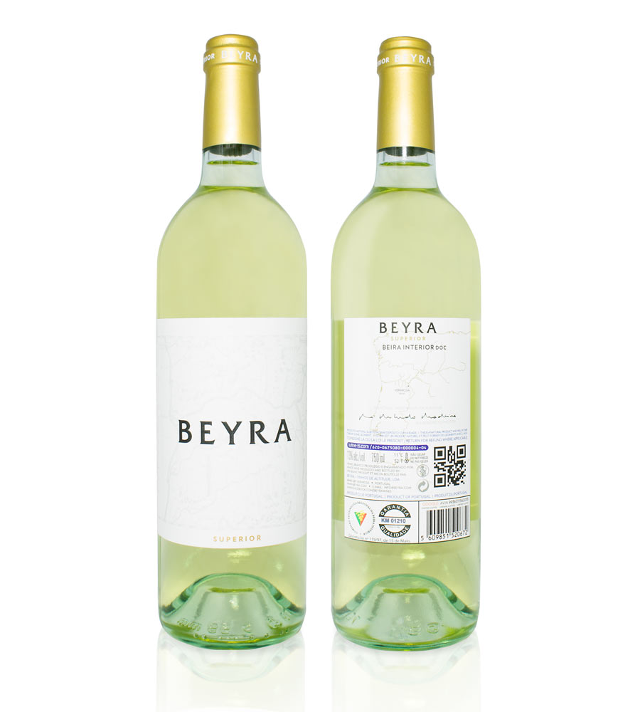 White Wine Beyra Superior 2015, 75cl Beira Interior
