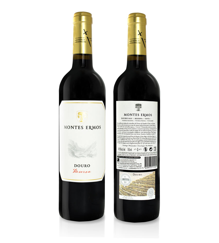 Red Wine Montes Ermos Reserva 2017 75cl Douro DOC