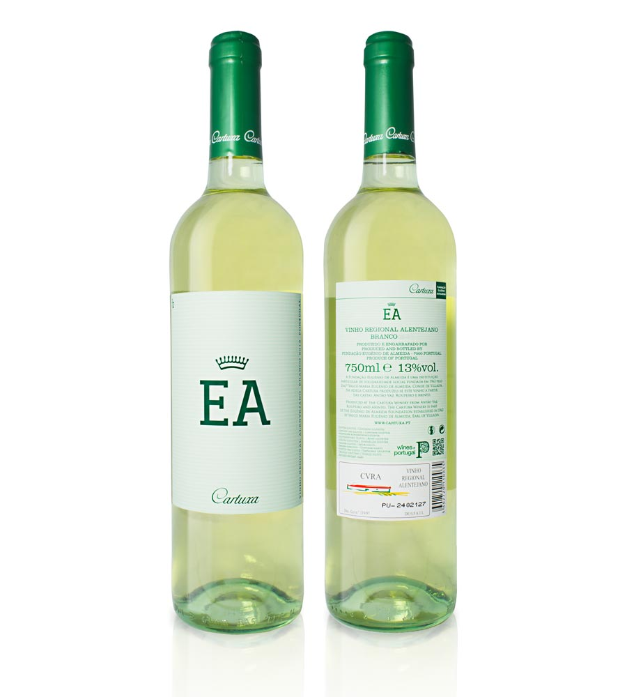 White Wine EA 2018, 75cl Alentejo