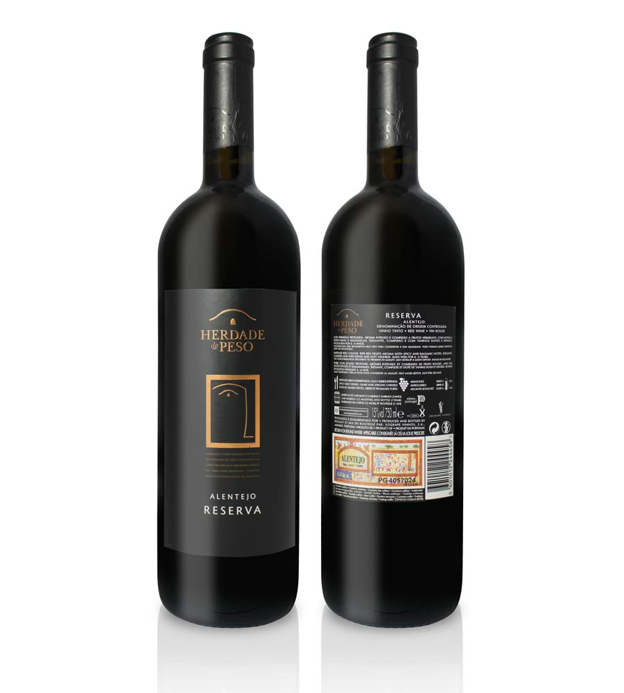 6d25ad84924 Red Wine Herdade do Peso Reserva 2015 75cl Alentejo DOC - Envio ...