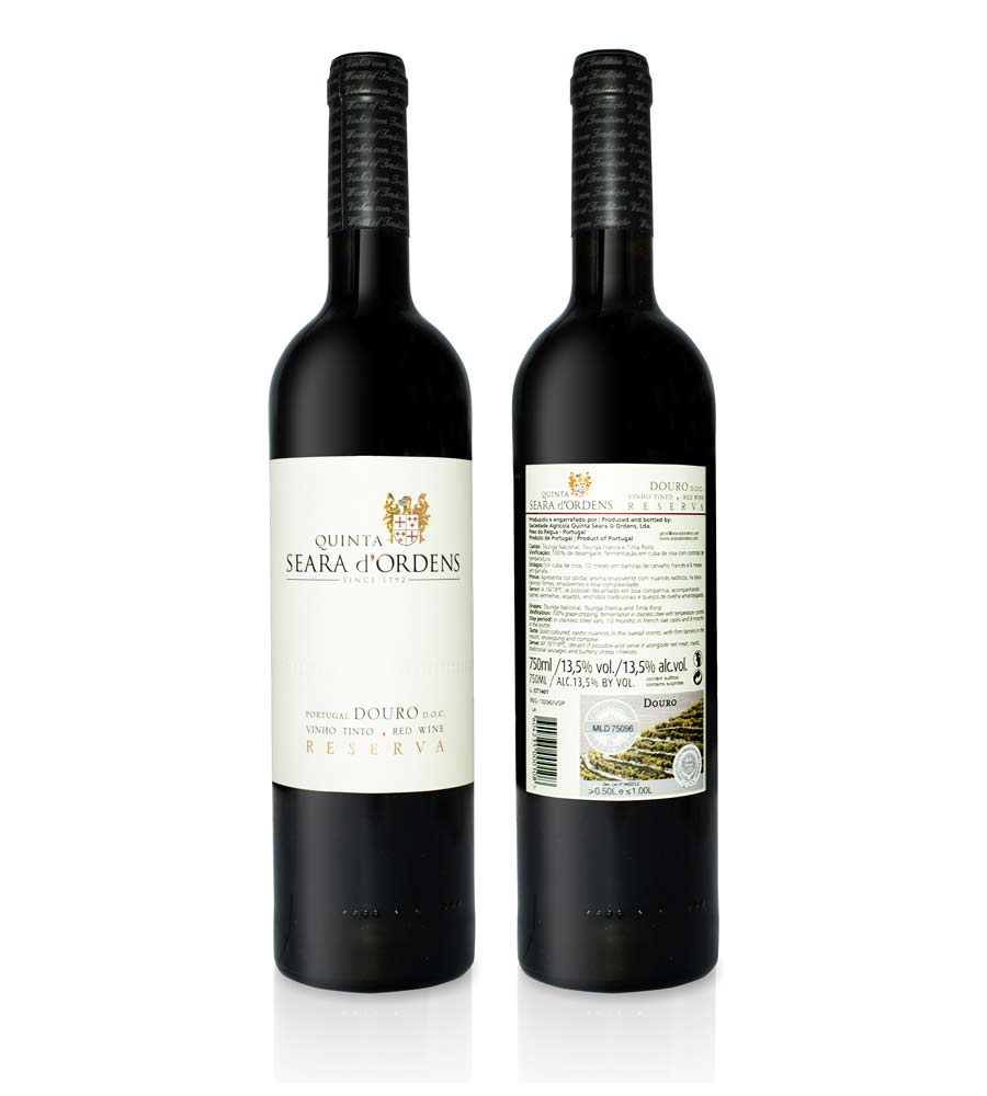 Red Wine Quinta Seara d'Ordens Reserva 2017, 75cl Douro DOC