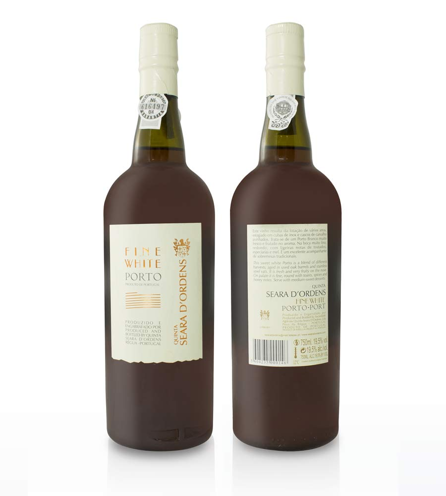 Port Wine Quinta Seara d'Ordens Fine White 75cl DOC Douro e Porto