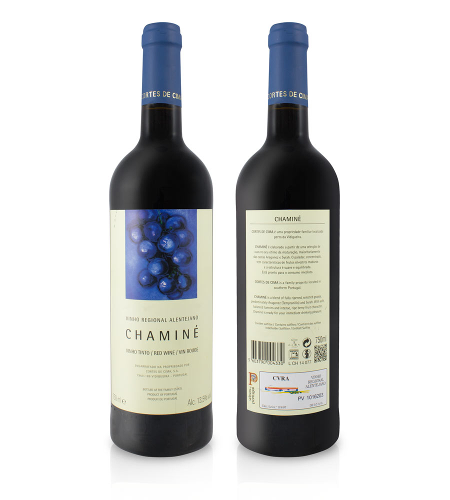 Red Wine Chaminé 2017 75cl Alentejo