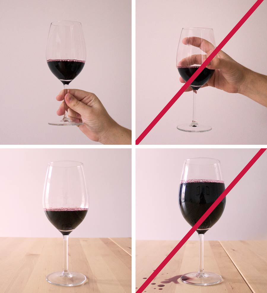 How to hold a wine glass vinha how to hold a wine glass ccuart Gallery