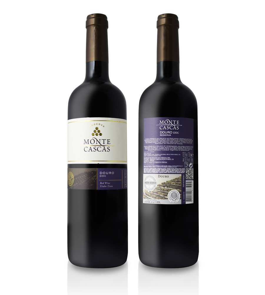 Red Wine Monte Cascas Reserva 2014 75cl Douro DOC