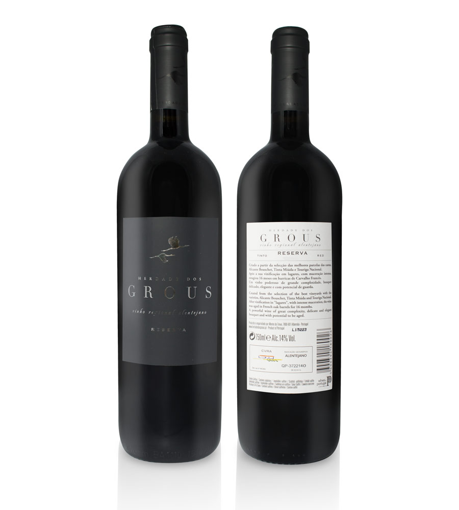 Red Wine Herdade dos Grous Reserva 2016, 75cl Alentejo