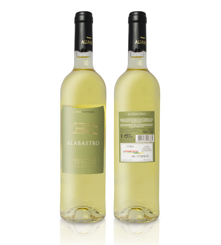 White Wine Alabastro 2016, 75cl Alentejo