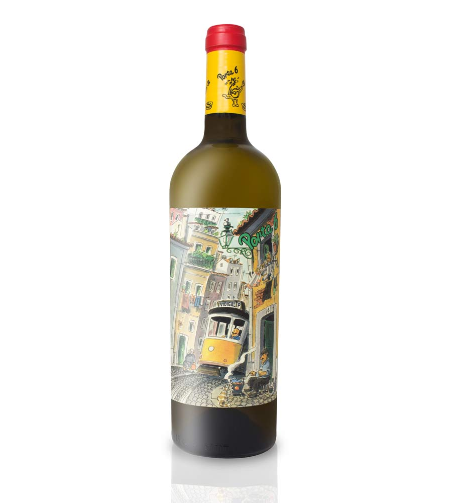 White Wine Porta 6 2018, 75cl Lisboa