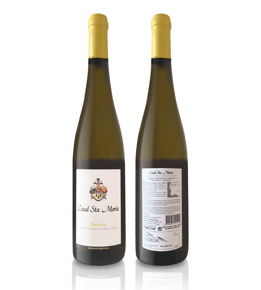 White Wine Casal Santa Maria Riesling 2014 75cl Lisboa