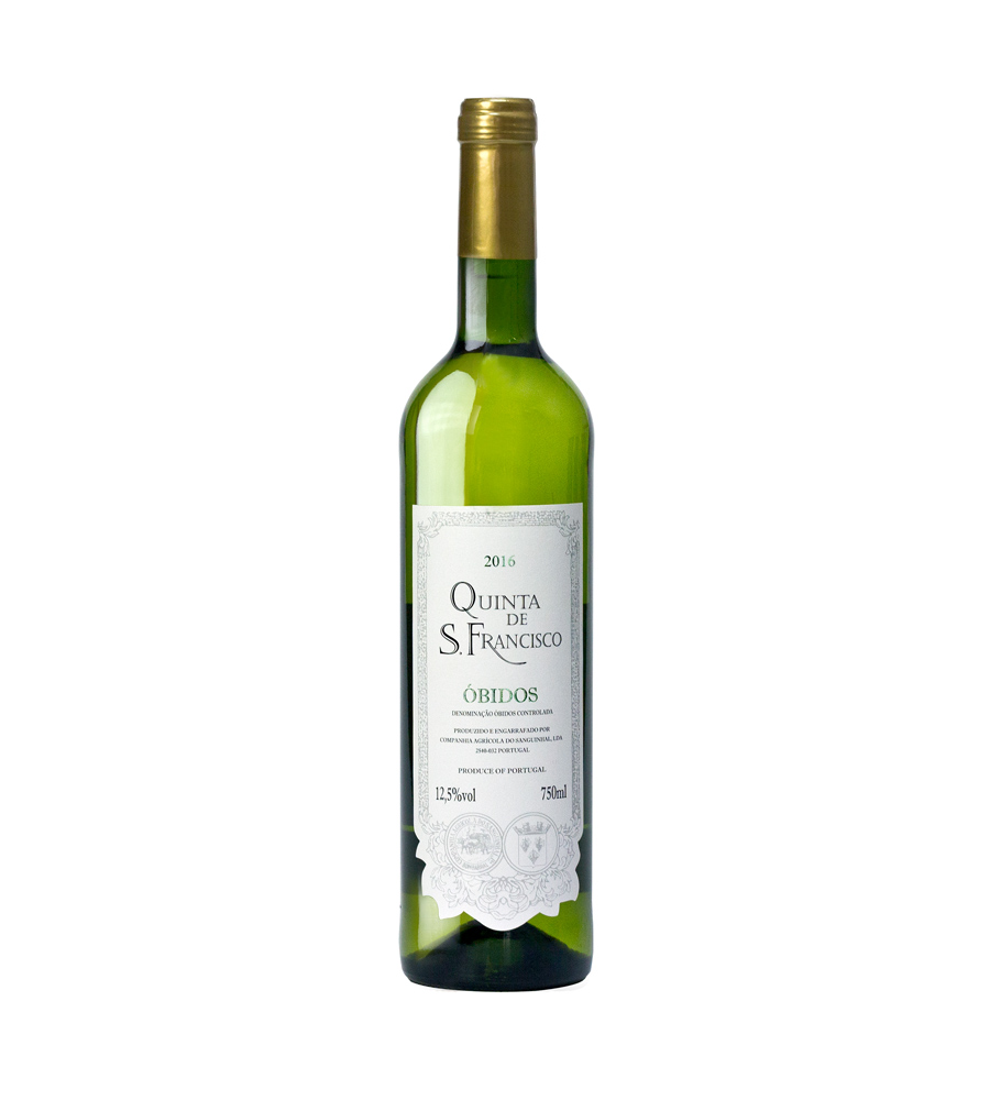 White Wine Quinta de S. Francisco 2017, 75cl DOC Óbidos