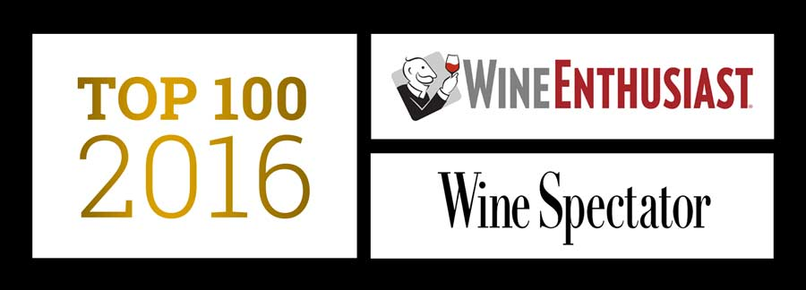 Top 100 wines of 2016