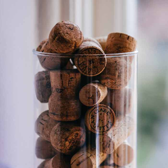 The new life of your old corks