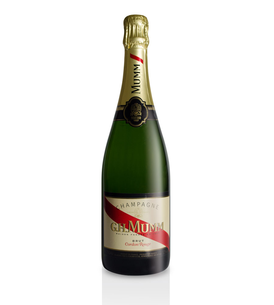 Champagne Mumm Cordon Rouge Brut, 75cl Champagne