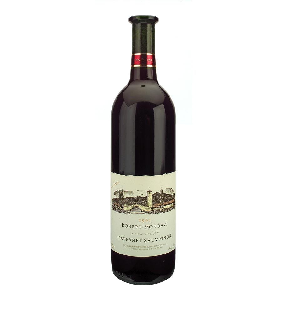 Red Wine Robert Mondavi Cabernet Sauvignon 1995, 75cl Napa Valley