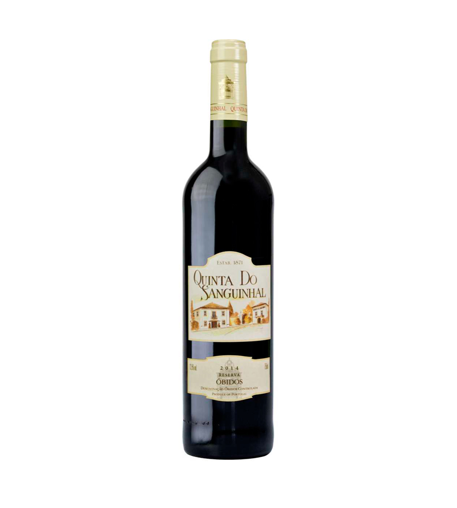 Red Wine Quinta do Sanguinhal Reserva 2014, 75cl Óbidos