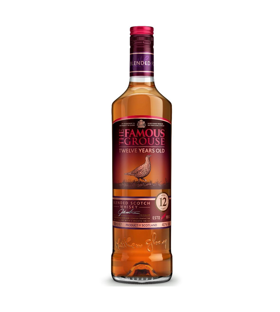 Whisky The Famous Grouse 12 years 70cl