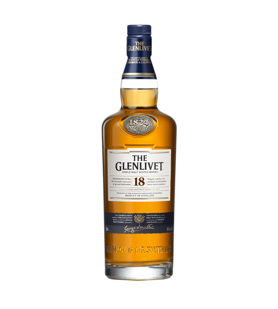 Whisky The Glenlivet 18 Year Old, 70cl