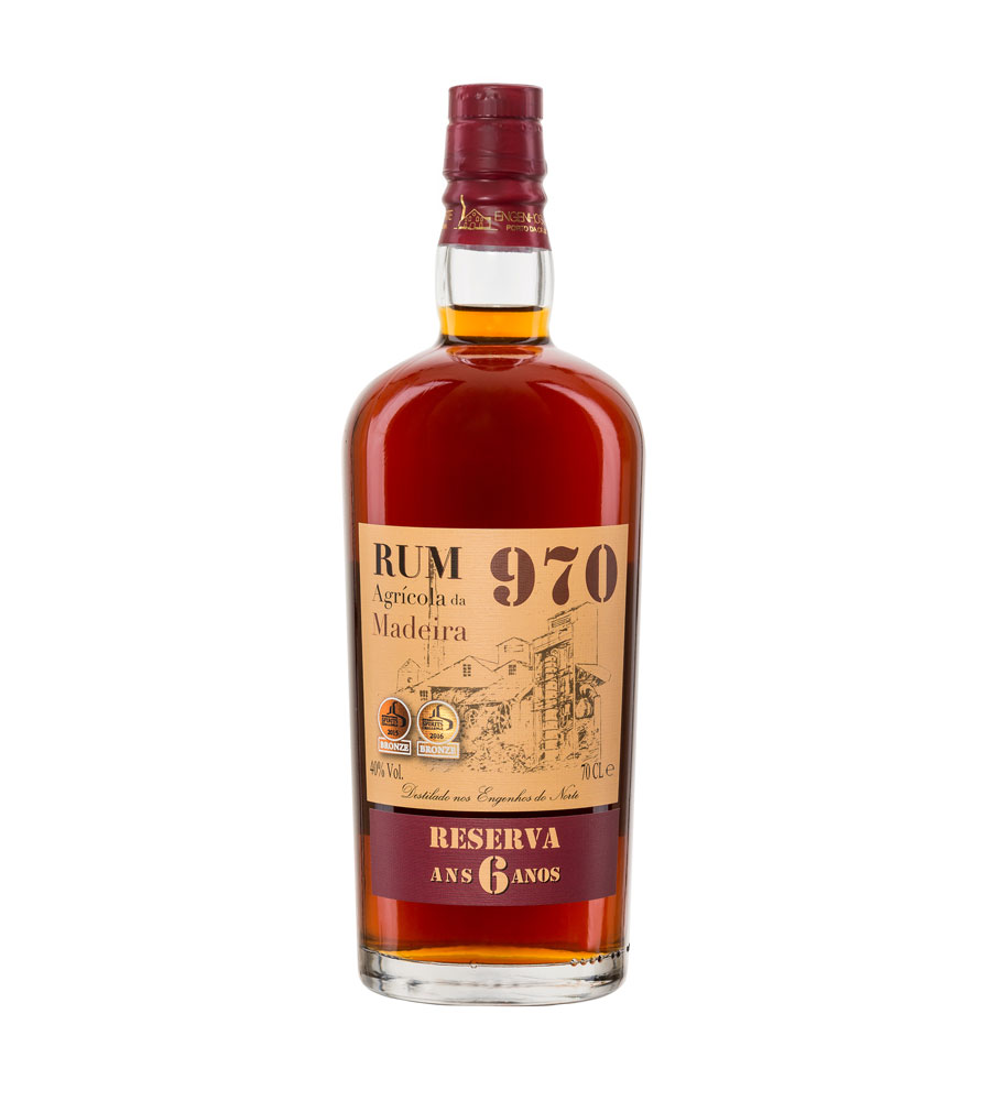 Rhum 970 Reserve 6 Years, 70cl Madeira