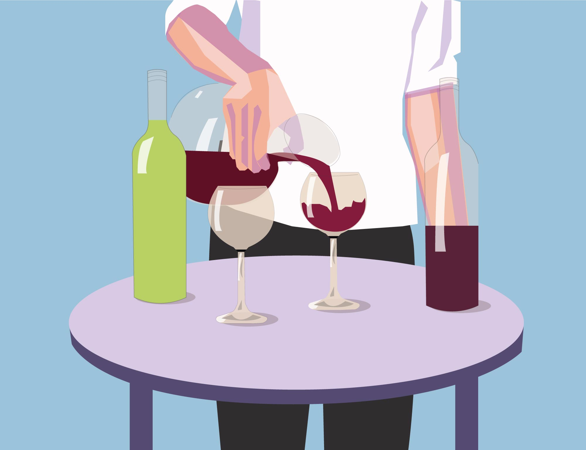 Which wines should be decanted?