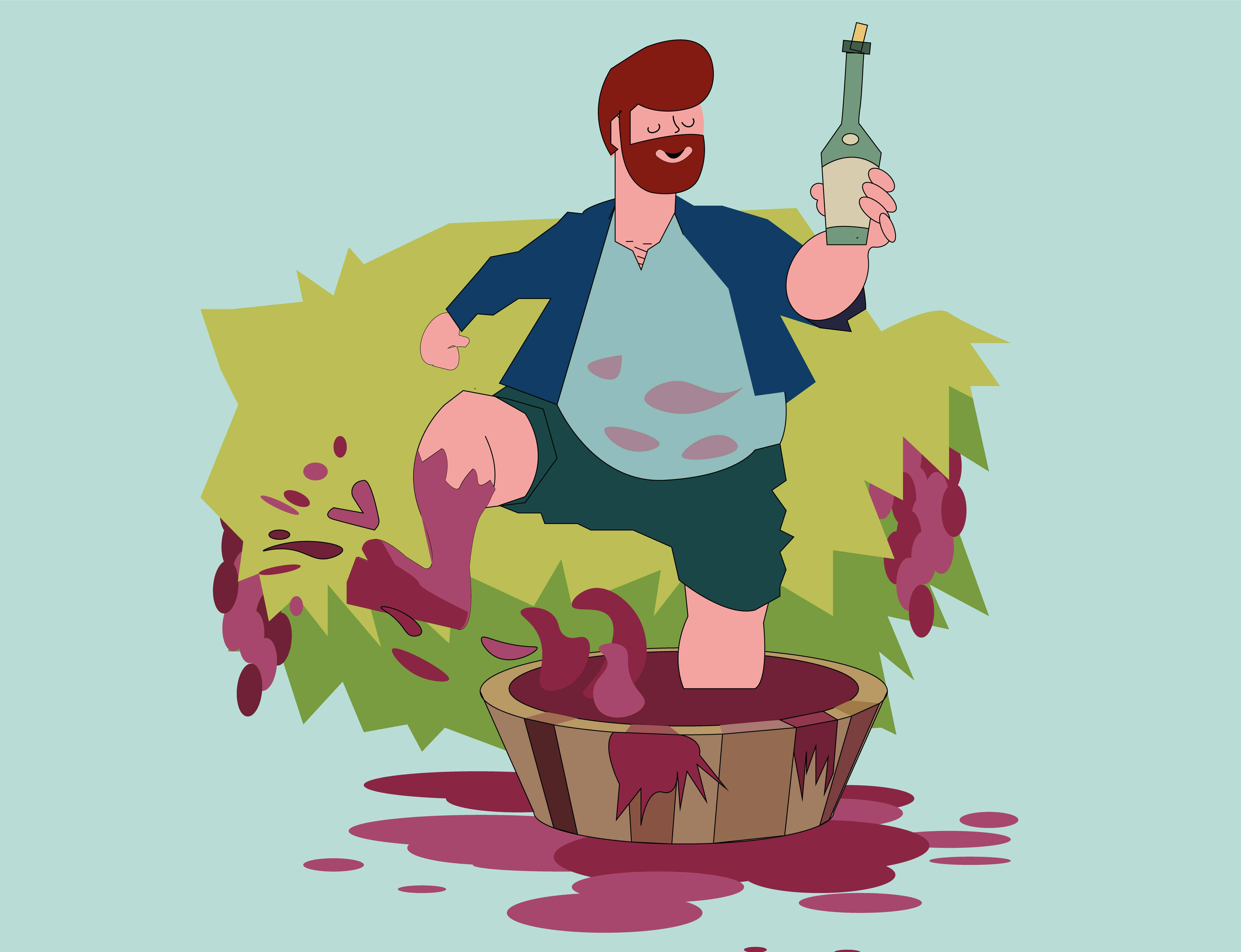 Natural wine, have you heard of it?