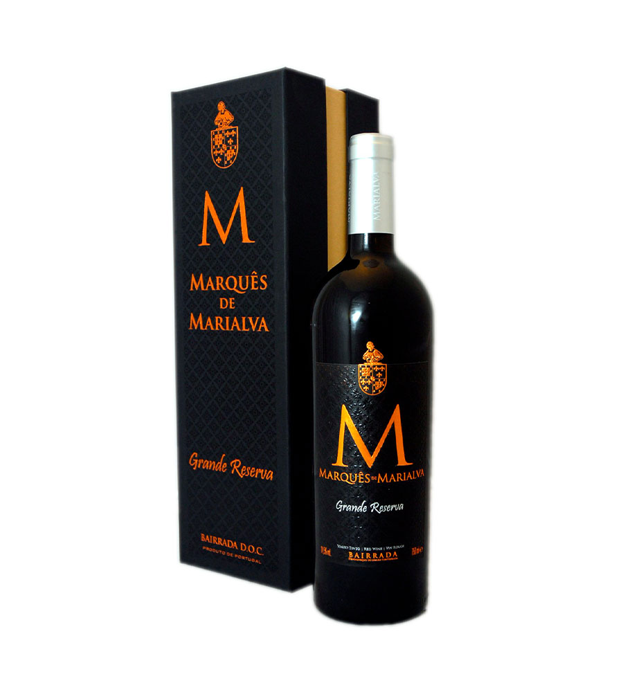 Red Wine Marquês de Marialva Grand Reserve 2013, 75cl Bairrada